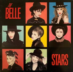 Belle Stars (The) ‎- The Belle Stars (LP) (G+/G+)